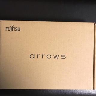 フジツウ(富士通)の富士通 arrows m04 ブラック SIMフリー(スマートフォン本体)