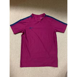 ナイキ(NIKE)のナイキ NIKE 新品 160cm Tシャツ プラクティスシャツ パープル 紫(Tシャツ/カットソー)