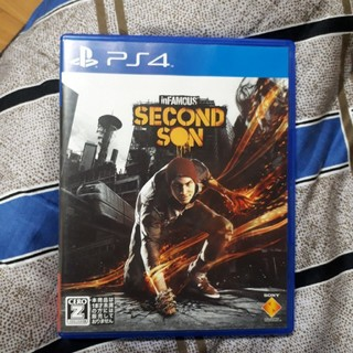 ps4 SECOND SON(家庭用ゲームソフト)