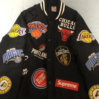 シュプリーム×ナイキ ジャケット(NBA)