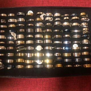 大人気!ノーブランド メンズ レディース リング 指輪 アクセサリー まとめ売り(リング(指輪))
