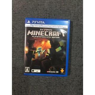 プレイステーションヴィータ(PlayStation Vita)のPSVITA マインクラフト(携帯用ゲームソフト)