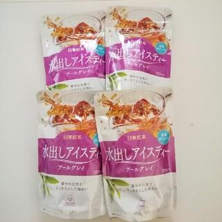 日東紅茶 水出しアイスティー アールグレイ  ㅤ500ml用 4袋(茶)