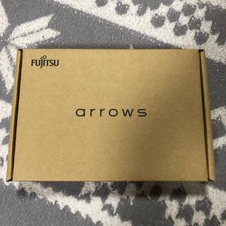 フジツウ(富士通)の新品!富士通 FUJITSU arrows M04 ブラック(スマートフォン本体)