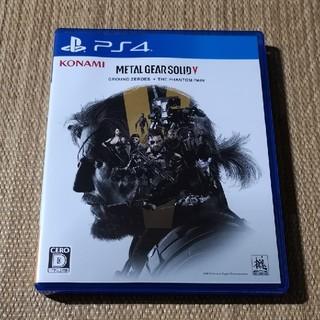 PS4 メタルギアソリッド5 グラウンドゼロズ+ファントムペイン 美品