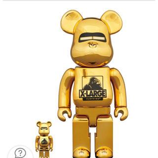 BE@RBRICK XLARGE(R) 100% & 400% GOLD