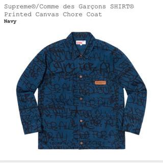 シュプリーム(Supreme)のsupreme コムデギャルソン Canvas Chore Coat Mサイズ(ブルゾン)