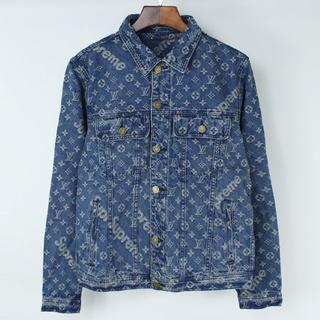 シュプリーム(Supreme)のSupreme Denim Jacket X Louis Vuitton(Gジャン/デニムジャケット)