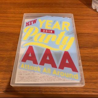 AAA - AAA NEW YEAR PARTY 2018 DVD