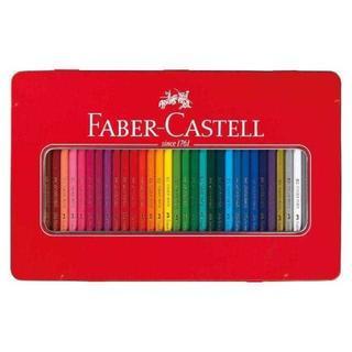 大人気☆ファーバーカステル 油性色鉛筆 平缶 36色セット【新品・送料無料】 (色鉛筆 )