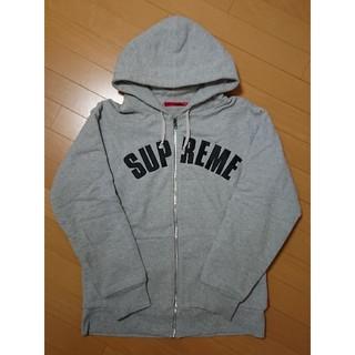 シュプリーム(Supreme)のSupreme - Arc Logo Thermal Zip-Up Hoodie(パーカー)