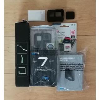 ゴープロ(GoPro)の新品7点セットGoPro HERO7 BLACK(ビデオカメラ)