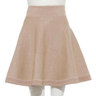 リリーブラウン(Lily Brown)のリリーブラウン   ラメニットスカート(ミニスカート)