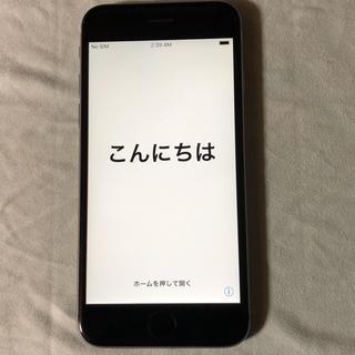 アイフォーン(iPhone)のiPhone6s 64GB スペースグレー(スマートフォン本体)