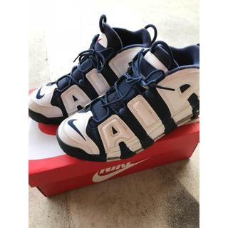 NIKE - 27.5 NIKE AIR MORE UPTEMPO モアテン