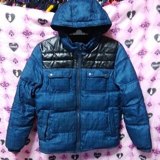 ジーユー(GU)の暖か中綿入りパーカージャケットXLサイズ(その他)