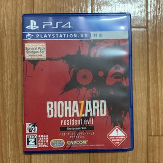 プレイステーション4(PlayStation4)の専用出品 バイオハザード7 レジデントイービル グロテスクバージョン(家庭用ゲームソフト)