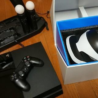 プレイステーションヴィーアール(PlayStation VR)のPSVR + PS4 + オマケ(家庭用ゲーム機本体)