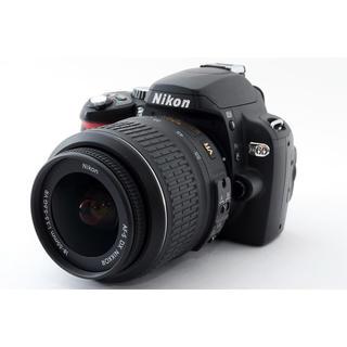 ニコン(Nikon)の★小型軽量モデル♪WiFi対応★ニコン D60 手振れ補正レンズキット(デジタル一眼)