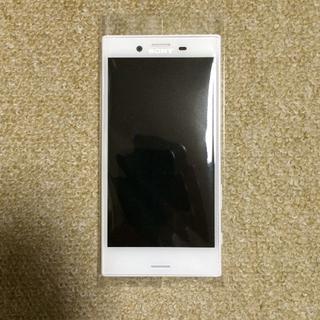 エクスペリア(Xperia)の【美品】Xperia X Compact SO-02J White(スマートフォン本体)