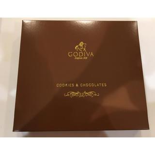 チョコレート(chocolate)の未開封!ゴディバ アソート  クッキー&チョコレート  8枚&21粒(菓子/デザート)