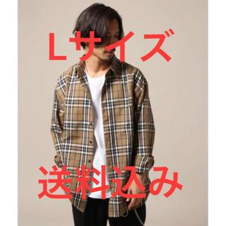 レイジブルー(RAGEBLUE)のrageblue ビッグシルエットチェックシャツ(シャツ)