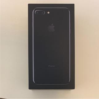 アイフォーン(iPhone)のiPhone7plus Jet Black 128GB(スマートフォン本体)