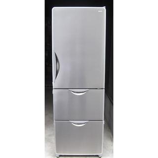 ヒタチ(日立)のHITACHI/3ドァ冷凍冷蔵庫R-S37VMVクリァーステン中古完動品2006(冷蔵庫)