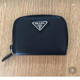 プラダ(PRADA)のプラダ 黒 小銭入れ財布(コインケース/小銭入れ)