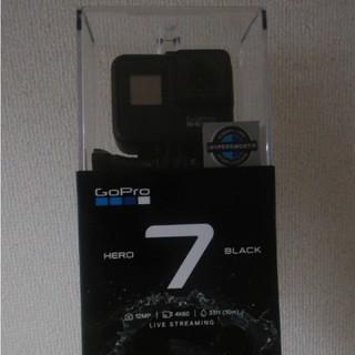 ゴープロ(GoPro)のgo pro hero 7 black 新品 未開封(ビデオカメラ)