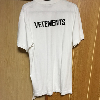 バレンシアガ(Balenciaga)のvetements staff Tシャツ ヴェトモン(Tシャツ/カットソー(半袖/袖なし))