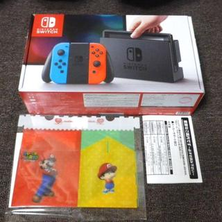 ニンテンドウ(任天堂)の【送料込】任天堂 スイッチ Nintendo Switch 新品(家庭用ゲーム本体)