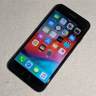 アイフォーン(iPhone)のdocomo iPhone7 128GB ジェットブラック(スマートフォン本体)