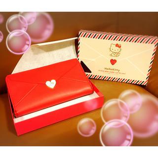サンリオ(サンリオ)の♡ハローキティ『貴方にラブレター』cuteなウォレット特価♡(キャラクターグッズ)