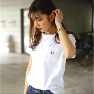 MAISON KITSUNE' - 【在庫セール】新品未使用 メゾンキツネ  Tシャツ