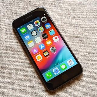 アイフォーン(iPhone)のSIMフリー iPhone8 64GB/ブラック Apple(スマートフォン本体)