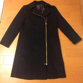 ガリャルダガランテ(GALLARDA GALANTE)のBAILA掲載 ラウンジドレス黒コート(ロングコート)