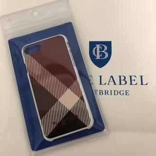 バーバリーブルーレーベル(BURBERRY BLUE LABEL)の【新品.タグ付き】♡ブルーレーベルクレストブリッジ♡iPhoneケース♡(iPhoneケース)