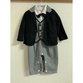 男の子 フォーマル 80 ロンパース 3点セット(セレモニードレス/スーツ)