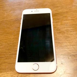アイフォーン(iPhone)のiPhone7 32GB ローズゴールド SIMフリー(スマートフォン本体)