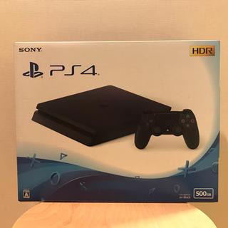 プレイステーション4(PlayStation4)のPlayStation4 ジェットブラック 500GB クーポン付き プレステ4(家庭用ゲーム本体)