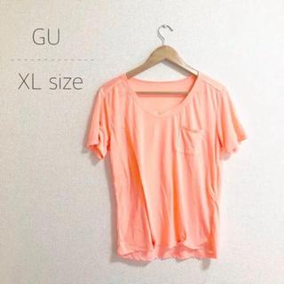 ジーユー(GU)のgu ゆったりTシャツ XLサイズ(Tシャツ(半袖/袖なし))