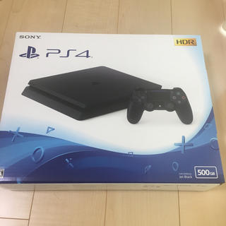 プレイステーション4(PlayStation4)の【新品】PS4 本体(家庭用ゲーム本体)