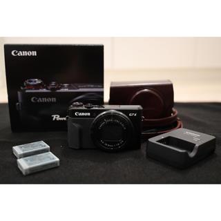 キヤノン(Canon)のキヤノン PowerShot G7X mark2 ケースバッテリーセット(コンパクトデジタルカメラ)