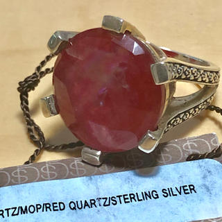 Stephen Dweck スティーブンデュエックMOPレッドクォーツリング(リング(指輪))