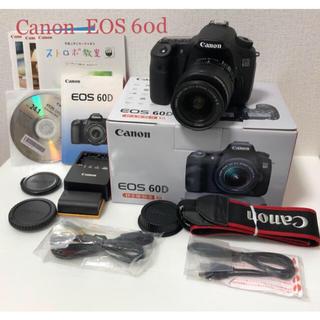 キヤノン(Canon)のCanon EOS  60d ズームレンズキット(デジタル一眼)