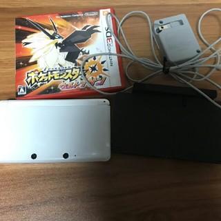 ニンテンドウ(任天堂)の3DS 、ポケットモンスターウルトラサン セット(携帯用ゲームソフト)