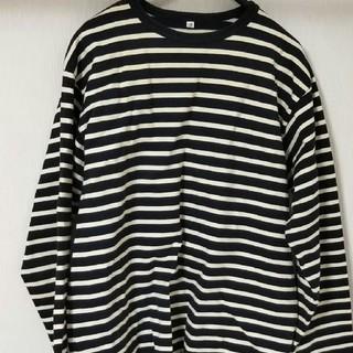 ムジルシリョウヒン(MUJI (無印良品))のボーダーカットソー 無印(Tシャツ/カットソー(七分/長袖))