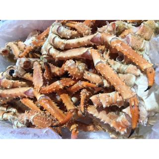 外国産 訳ありイバラ蟹バラ足4kg 大量 (魚介)