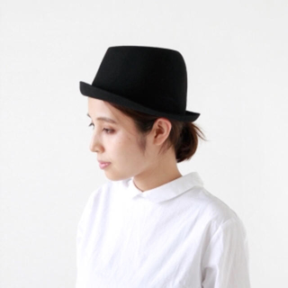 nest Robe - 【送料無料】マチュアーハ フリーハット 黒